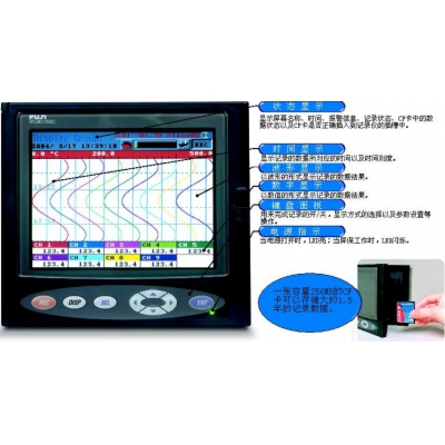 PHR/PHE/PHA系列(FUJI)日本富士记录仪,富士无纸记录仪