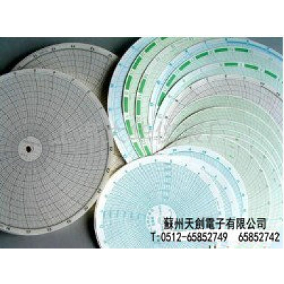 XWG 中园图 400张双面仪表记录纸