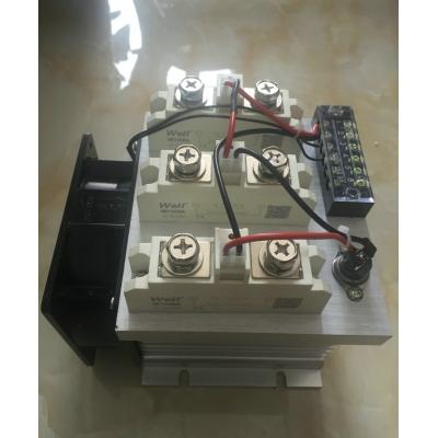 TTR3-80~400A 固态继电器三相模组系列
