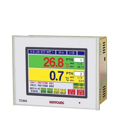 TD500双路可编程程序温控器